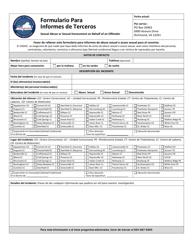 """Formulario Para Informes De Terceros"" - Virginia (Spanish)"
