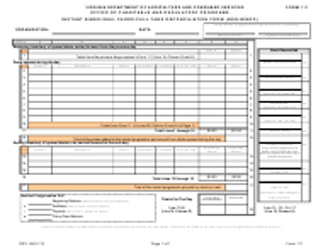 """Form 111 """"Instant Bingo/Seal Cards/Pull-Tabs Reconciliation Form (Non-bingo)"""" - Virginia"""