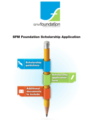 Sfm Foundation Scholarship Application
