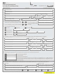 """Form AP-134 """"Texas Tax Questionnaire for Crude Oil and Natural Gas"""" - Texas"""