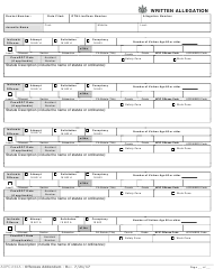 "Form AOPC232A ""Extra Offenses Addendum"" - Pennsylvania"
