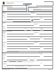 "Form PC-2.11 ""Custodianship"" - Rhode Island"