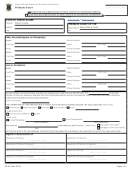 """Form PC-3.8 """"Bond for Sale Mortgage or Real Estate of Deceased Person or by Guardian-Conservator"""" - Rhode Island"""