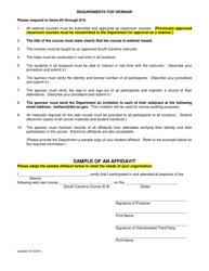 """Sample of an Affidavit"" - South Carolina"