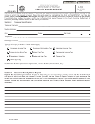 Form C-530 Penalty Waiver Request - South Carolina
