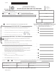 "Form ST-3 ""State Sales and Use Tax Return"" - South Carolina"