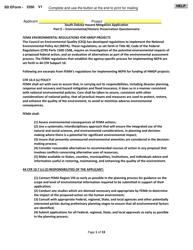 "SD Form 2350 ""South Dakota Hazard Mitigation Application Part Ii - Environmental/Historic Preservation Questionnaire"" - South Dakota"