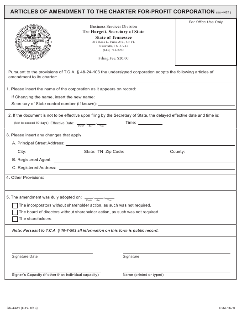 Form SS-4421  Printable Pdf