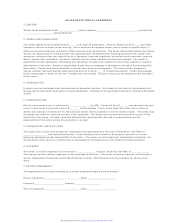 """Salon Booth Rental Agreement Template"""