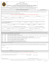 """Renewal Application for Concealed Firearm Permit"" - Utah"