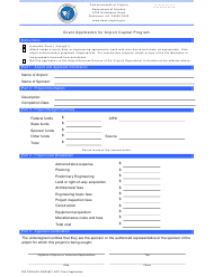 """Grant Application for Airport Capital Program"" - Virginia"