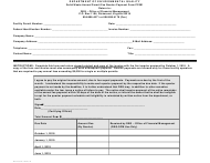 "Form PF001 ""Solid Waste Annual Permit Fee Quarter Payment"" - Virginia"
