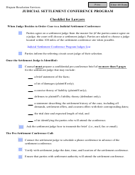 """Checklist for Lawyers"" - Virginia"