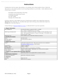 "Form ECY070-502 ""Washington Greenhouse Gas Reporting Program: Facility Report Signature and Submittal Form"" - Washington, Page 2"