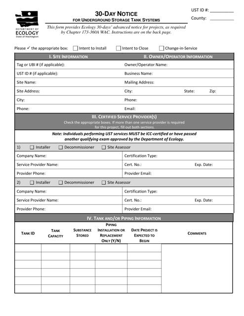Form ECY020-95  Printable Pdf