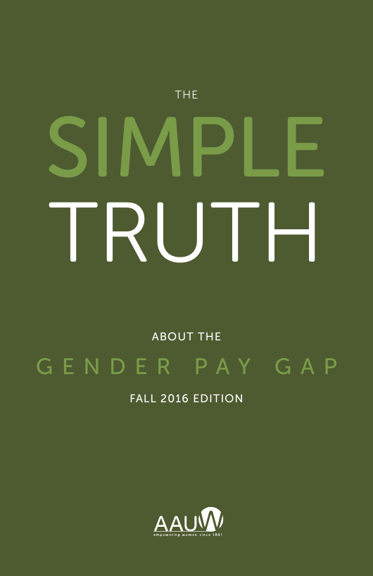 """The Simple Truth About the Gender Pay Gap - American Association of University Women"" Download Pdf"