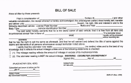 Form MVR-27 Bill of Sale - County of Kauai, Hawaii