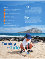 """""""Turning the Tide on Trash - Ocean Conservancy"""", Page 2"""