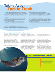 """""""Turning the Tide on Trash - Ocean Conservancy"""", Page 4"""