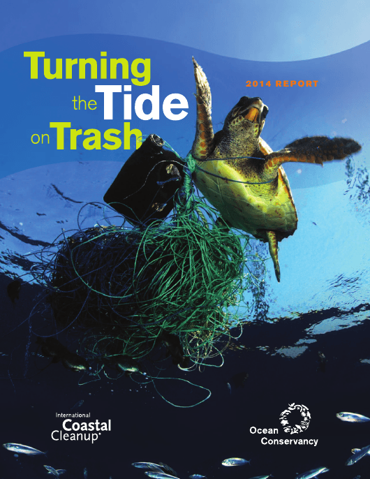 """""""Turning the Tide on Trash - Ocean Conservancy"""" Download Pdf"""