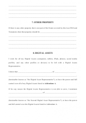 last will and testament michigan download printable pdf. Black Bedroom Furniture Sets. Home Design Ideas