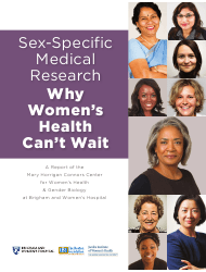 """Sex-Specific Medical Research: Why Women's Health Can't Wait - Mary Horrigan Connors Center for Women's Health & Gender Biology"""