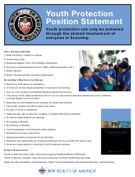 """Youth Protection Position Statement - Boy Scouts of America"""