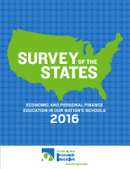 """Survey of the States - Council for Economic Education"", 2016"