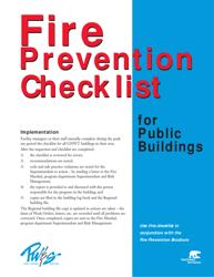 """""""Fire Prevention Checklist"""" - Northwest Territories, Canada"""