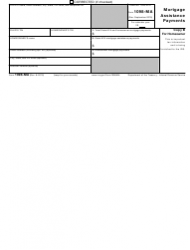 "IRS Form 1098-MA ""Mortgage Assistance Payments"", Page 2"