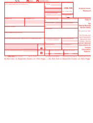 """IRS Form 1099-OID """"Original Issue Discount"""", Page 2"""