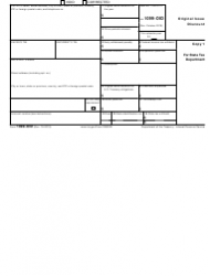 """IRS Form 1099-OID """"Original Issue Discount"""", Page 3"""