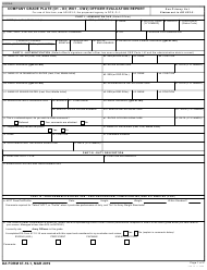 "DA Form 67-10-1 ""Company Grade Plate (O1 - O3; Wo1 - Cw2) Officer Evaluation Report"""