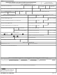 "DA Form 67-10-3 ""Strategic Grade Plate (O6) Officer Evaluation Report"""
