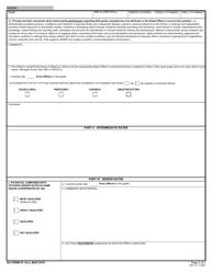 """DA Form 67-10-2 """"Field Grade Plate (O4 - O5; Cw3 - Cw5) Officer Evaluation Report"""", Page 2"""