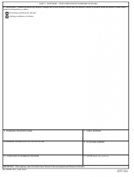 """DA Form 3437 """"Department of the Army Nonappropriated Funds Certificate of Medical Examination"""", Page 6"""