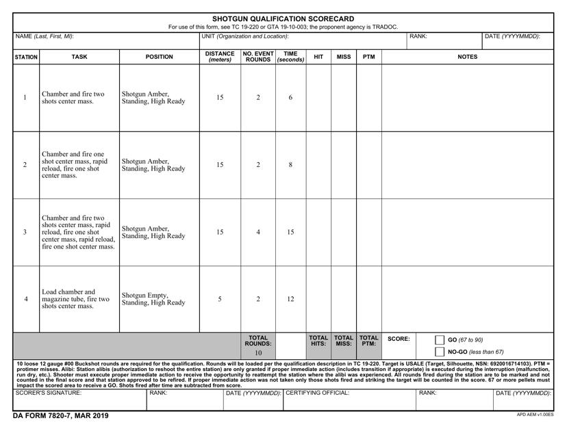 da-form-7820-7-shotgun-qualification-scorecard_big Online Army Form Last Date on