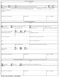 """AF IMT Form 1288 """"Application for Ready Reserve Assignment"""", Page 2"""