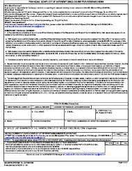 """59 MDW Form 14 """"Financial Conflict of Interest Disclosure for Researchers"""""""