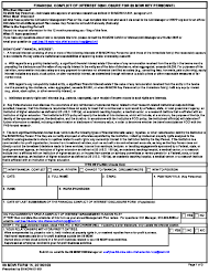"""59 MDW Form 15 """"Financial Conflict of Interest Disclosure for 59 Mdw Key Personnel"""""""