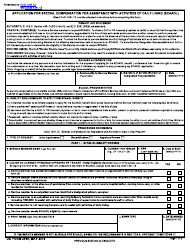 """DD Form 2948 """"Special Compensation for Assistance With Activities of Daily Living (SCAADL) Eligibility"""""""