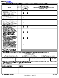 """DD Form 2948 """"Special Compensation for Assistance With Activities of Daily Living (SCAADL) Eligibility"""", Page 3"""