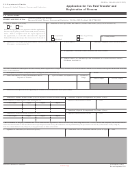 """ATF Form 4 (5320.4) """"Application for Tax Paid Transfer and Registration of Firearm"""", Page 11"""