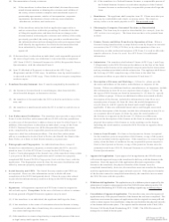 """ATF Form 4 (5320.4) """"Application for Tax Paid Transfer and Registration of Firearm"""", Page 6"""