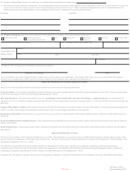"ATF Form 1 (5320.1) ""Application to Make and Register a Firearm"", Page 3"