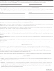 "ATF Form 5 (5320.5) ""Application for Tax Exempt Transfer and Registration of Firearm"", Page 12"
