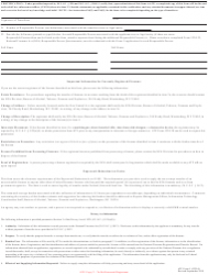 "ATF Form 5 (5320.5) ""Application for Tax Exempt Transfer and Registration of Firearm"", Page 9"