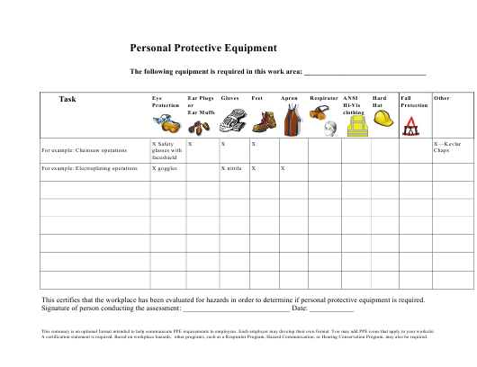 """""""Personal Protective Equipment Inventory Spreadsheet Template"""" Download Pdf"""