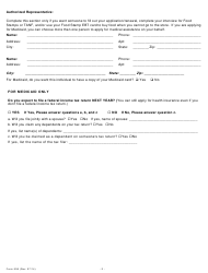 page_2_thumb Tanf Application Form on statistics state, benefits per state, monthly benefits state, amount chart,
