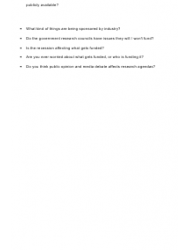 """""""Sample Semi-structured Interview Schedule"""", Page 2"""